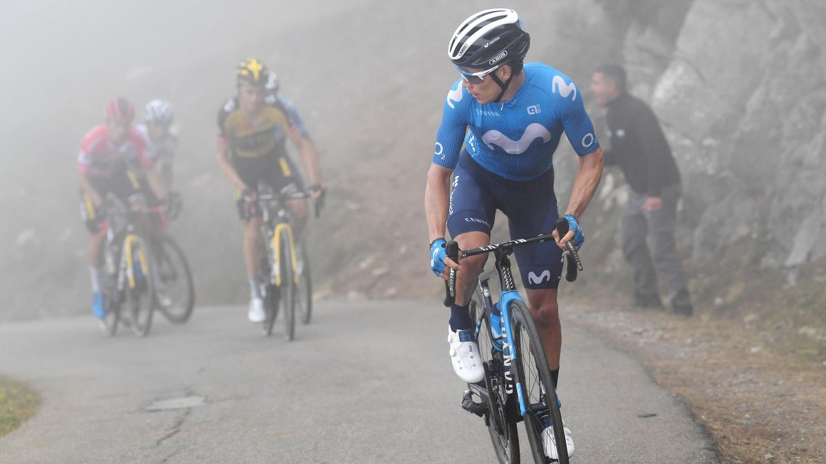 Stage 18 highlights: Lopez wins in misty mountains as Roglic closes on third title