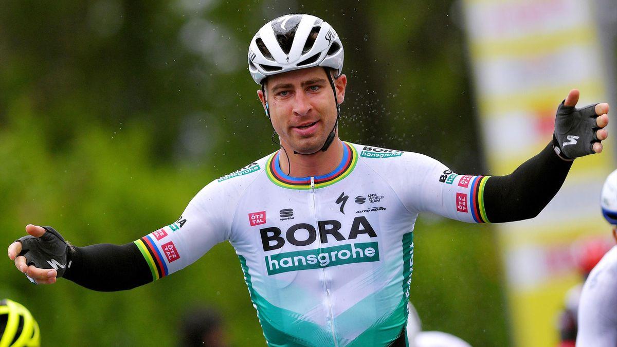 Peter Sagan gewinnt die 1. Etappe der Tour de Romandie