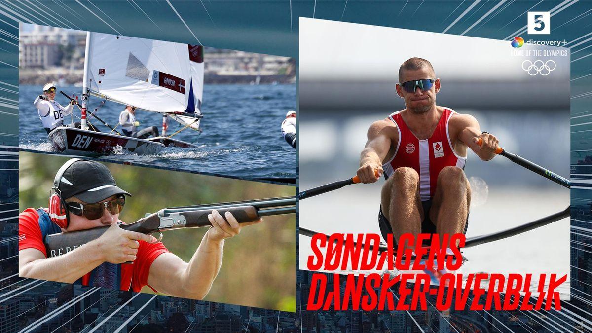 Søndag skal blandt andre de danske sejlere i aktion for første gang.