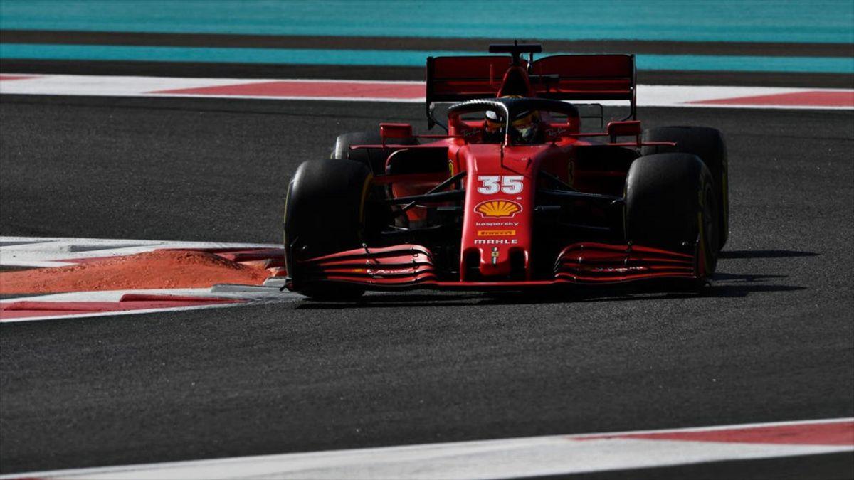 Robert Shwartzman - Ferrari Test Abu Dhabi