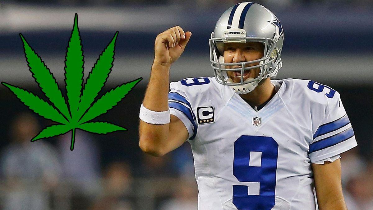Tony Romo - cannabis