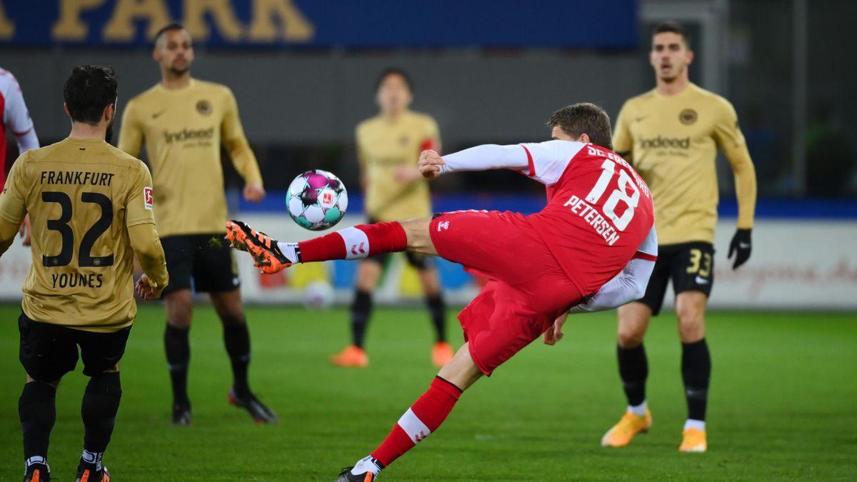 SC Freiburg - Nils Petersen trifft gegen Frankfurt