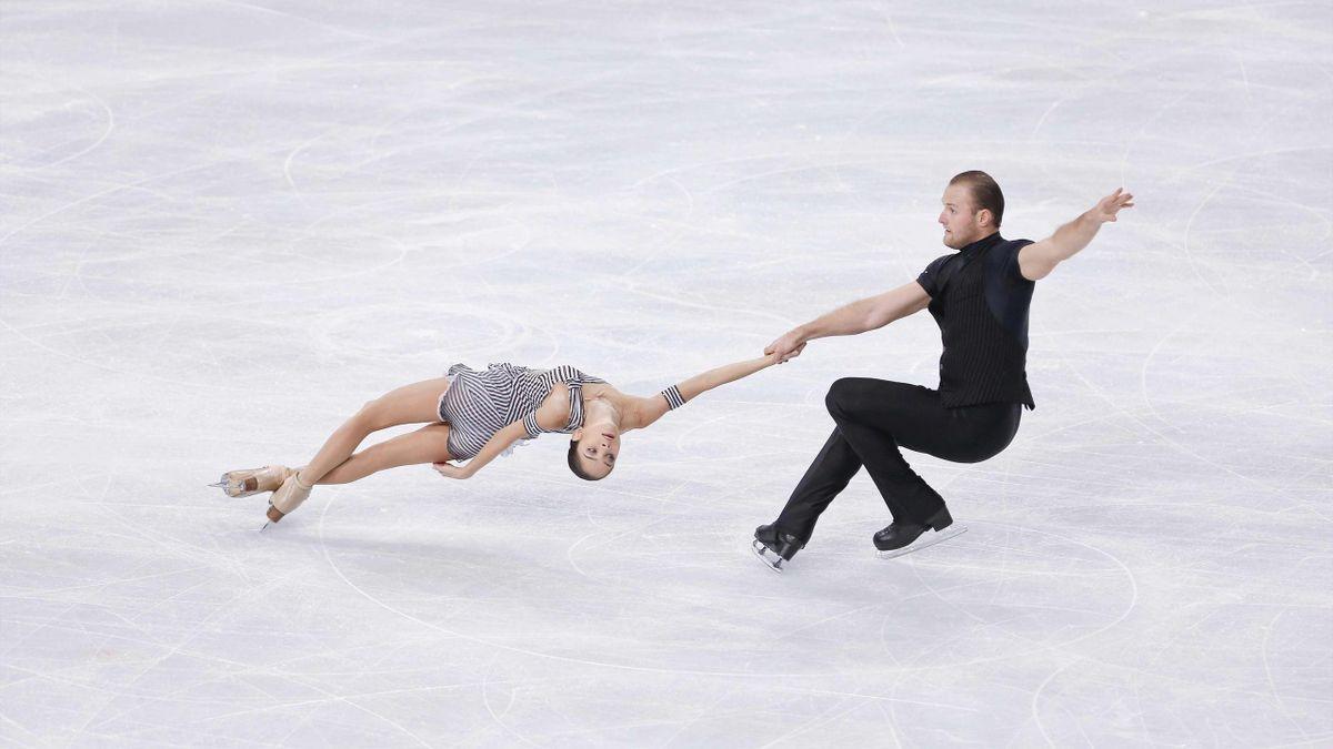 Вера Базарова и Юрий Ларионов на Trophee Eric Bompard