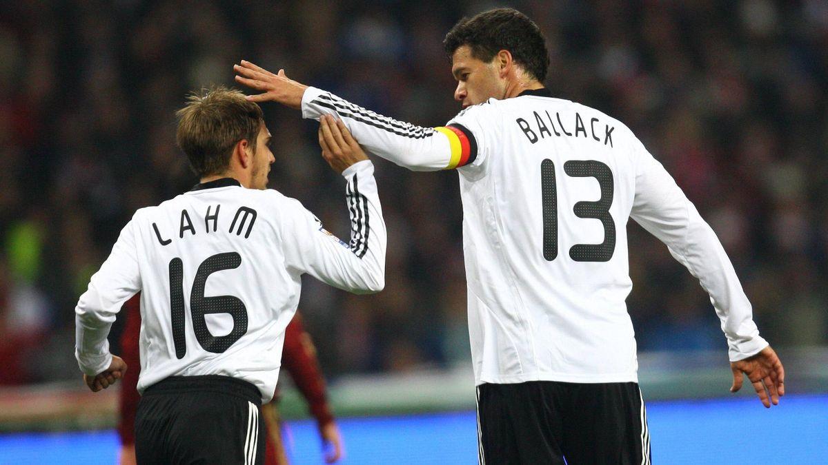 Philipp Lahm und Michael Ballack