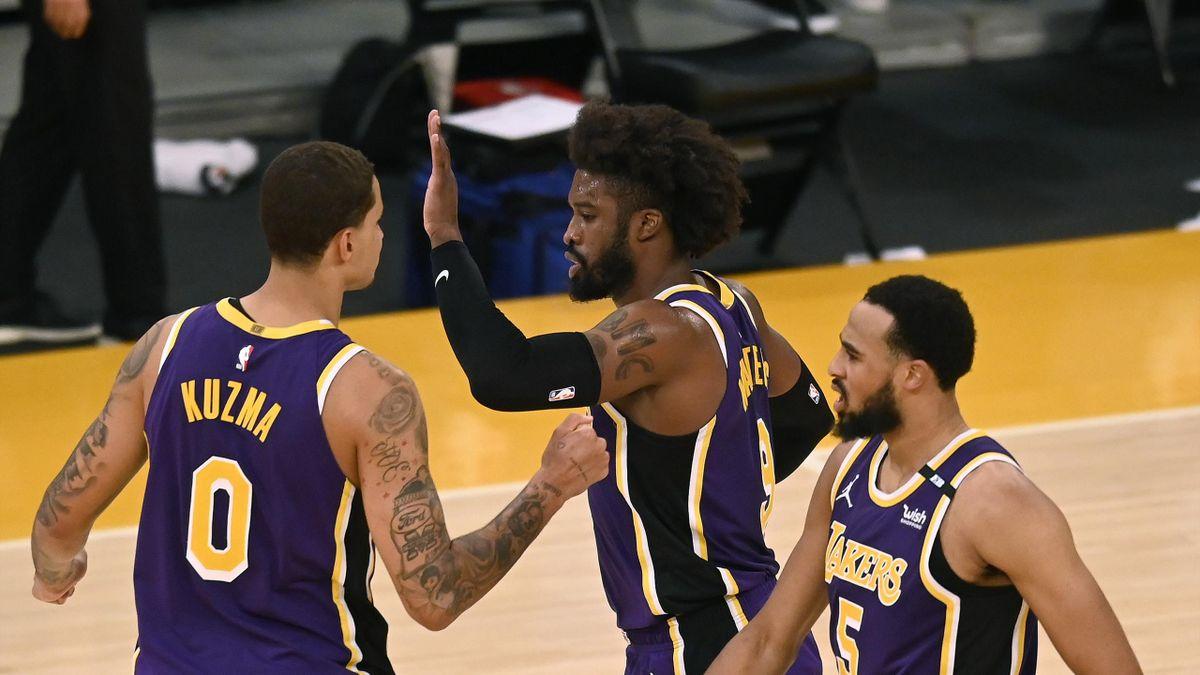 Los Angeles Lakers in festa
