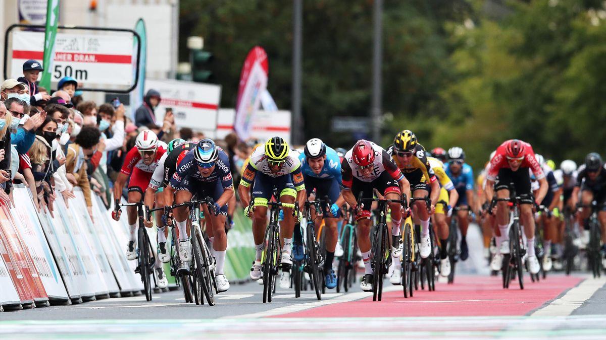 Alexander Kristoff spurtet inn til tredjeplass i Eschborn-Frankfurt