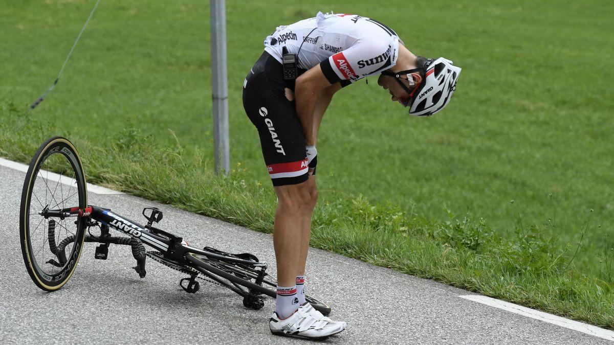 Tom Dumoulin contraint à l'abandon sur le Tour de France