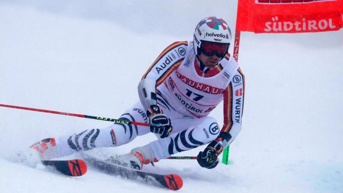 Stefan Luitz wird Zweiter beim Parallel-Riesenslalom in Alta Badia