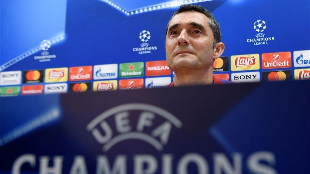 Ernesto Valverde - Barcelona - Champions League 2017/2018 - Getty Images