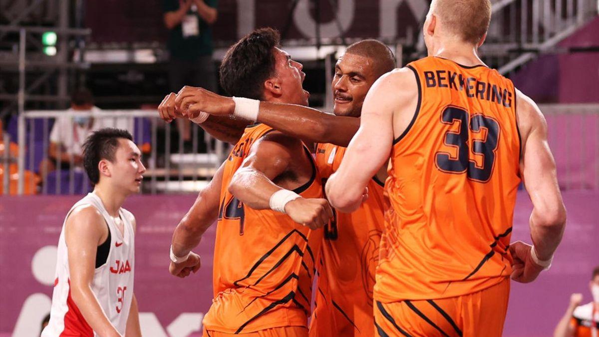 Tokyo 2020   3x3 basketballers twee keer in actie op dag 2