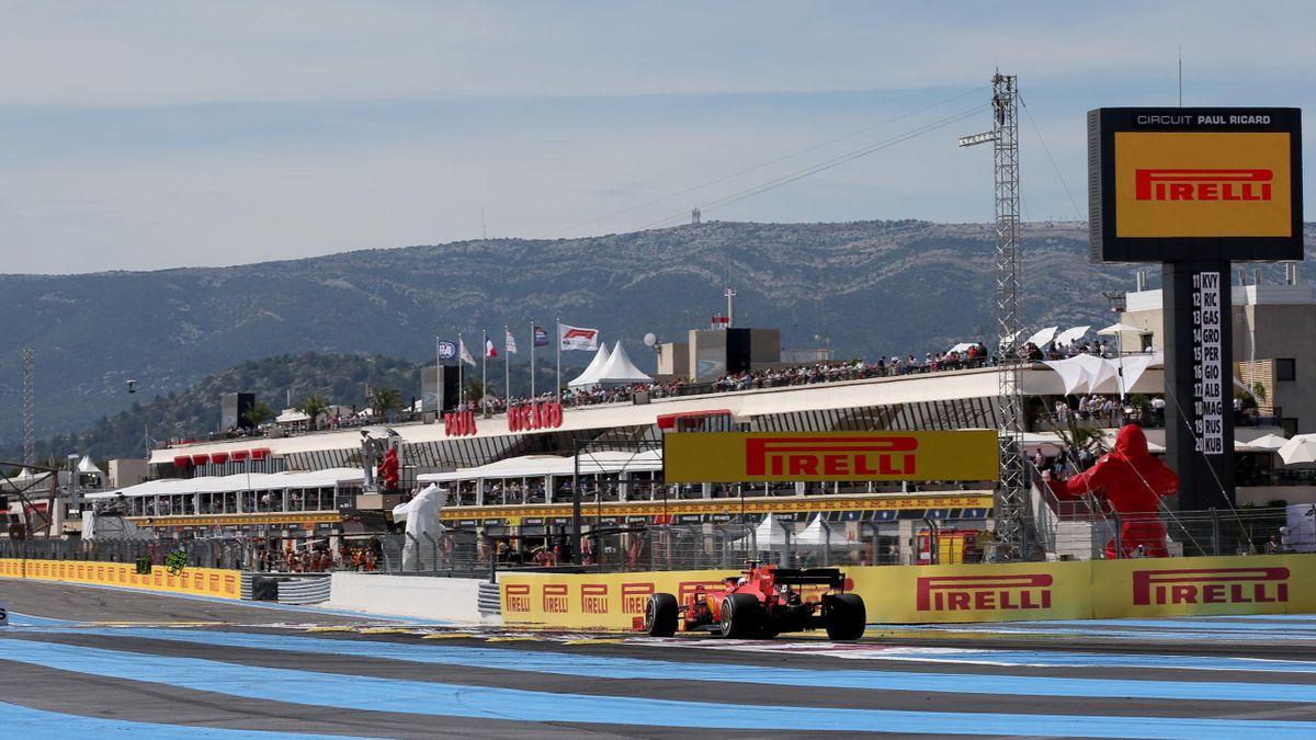 Charles Leclerc (Ferrari) au Grand Prix de France 2019