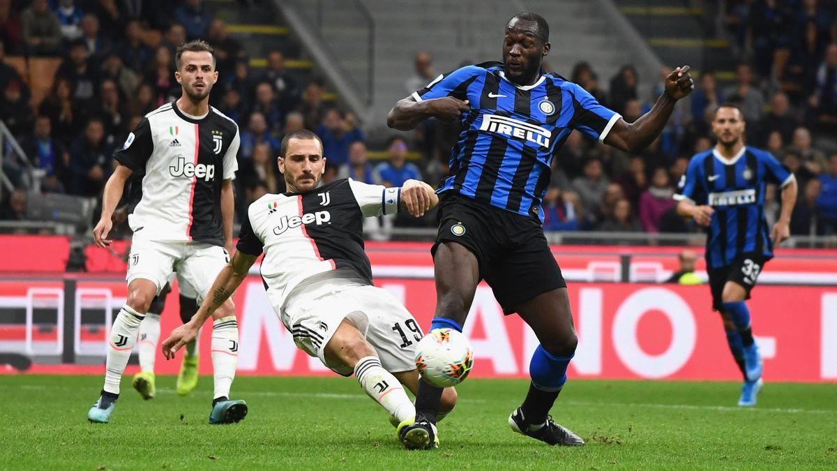 Lukaku, Bonucci - Inter-Juventus - Serie A 2019/2020 - Getty Images