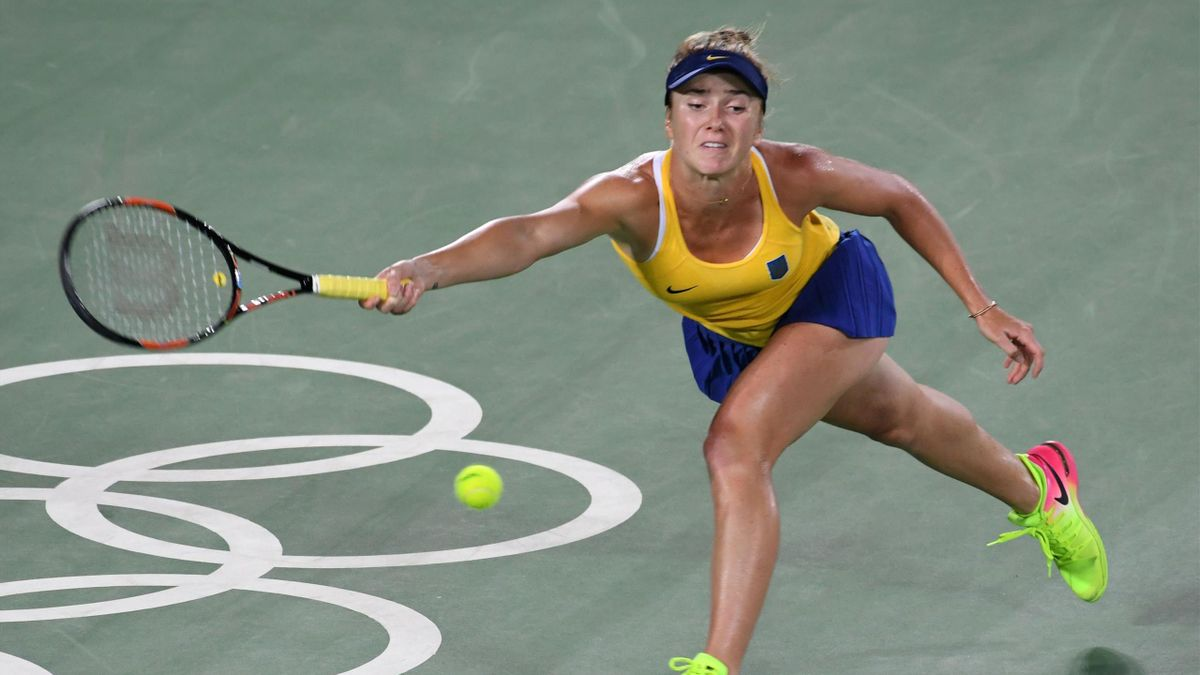 Elina Svitolina reached the quarter-finals of Rio 2016
