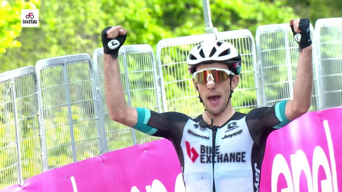 Stage 19 highlights: Yates closes on Bernal to boost pink jersey hopes
