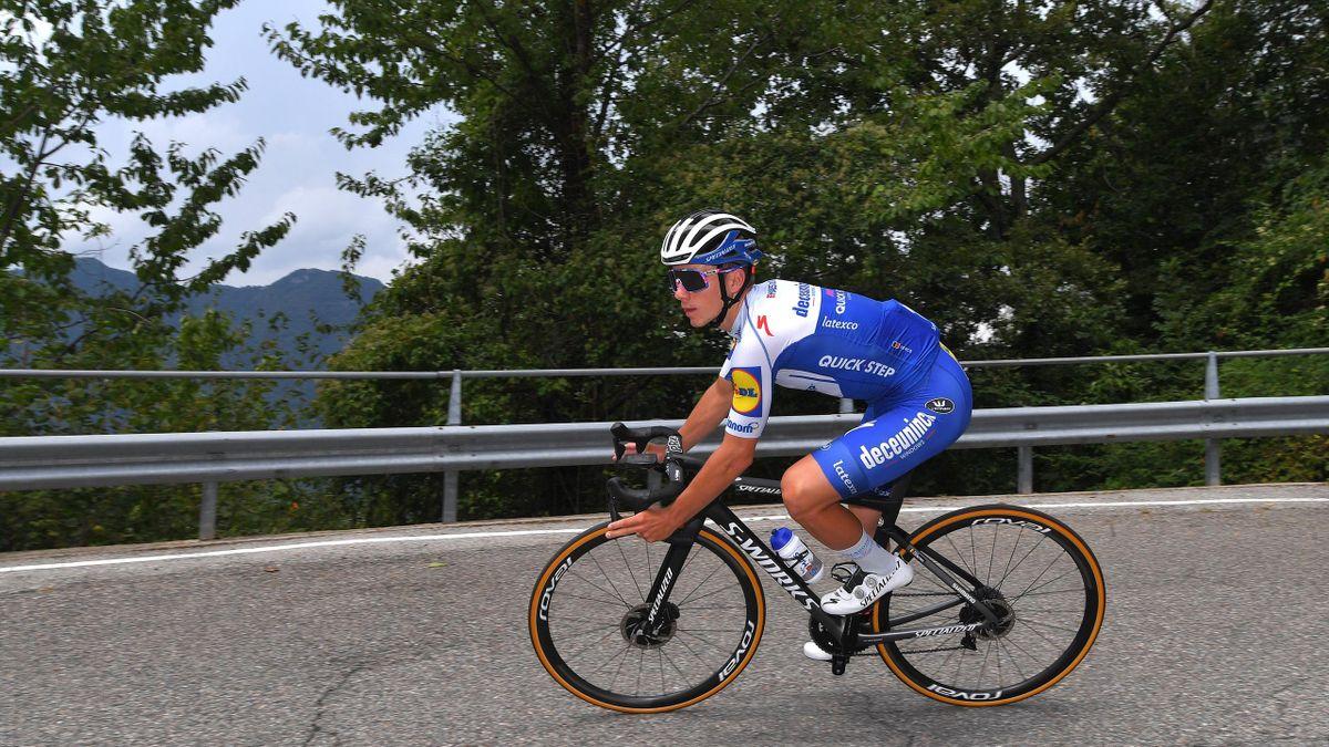 Remco Evenepoel kann wieder mit dem Rad-Training beginnen