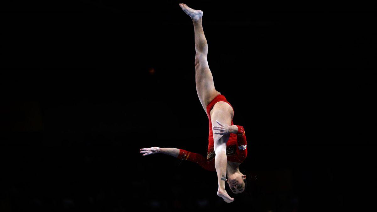 Ana Pérez (España). Mundiales de gimnasia 2019