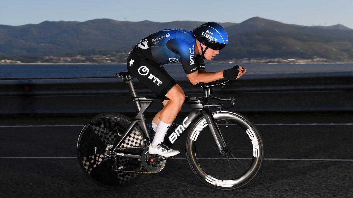Michael Valgren lors du Tour d'Espagne 2020.