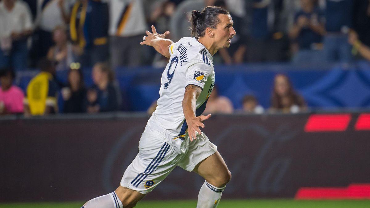 Zlatan Ibrahimovic trifft und triff für LA Galaxy