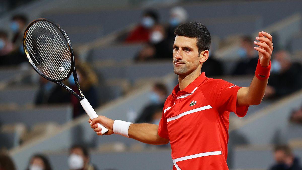 Novak Djokovic, dépité