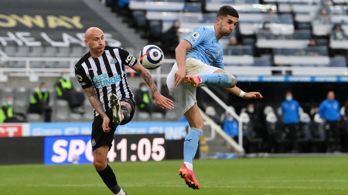 Newcastle United gegen Manchester City