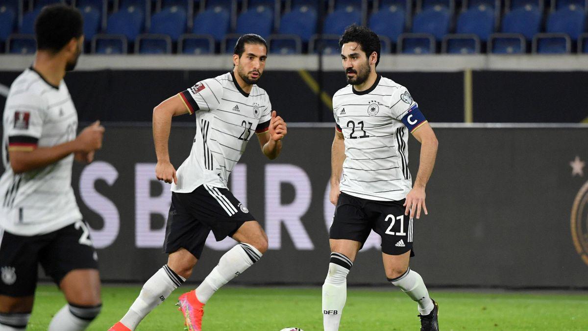 Emre Can (links) und Ilkay Gündogan - DFB-Elf