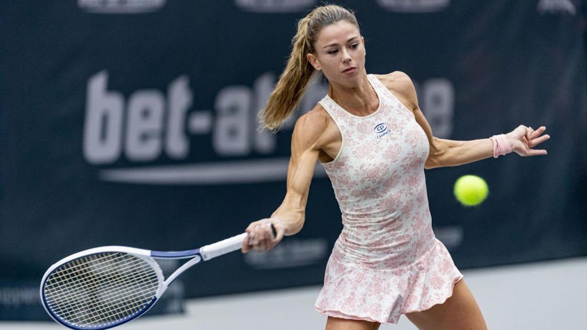 Camila Giorgi - Linz 2020 - Getty Images