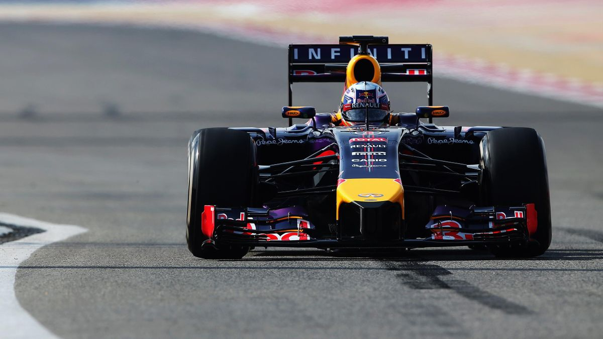 2014 Tests Sakhir Red Bull Ricciardo