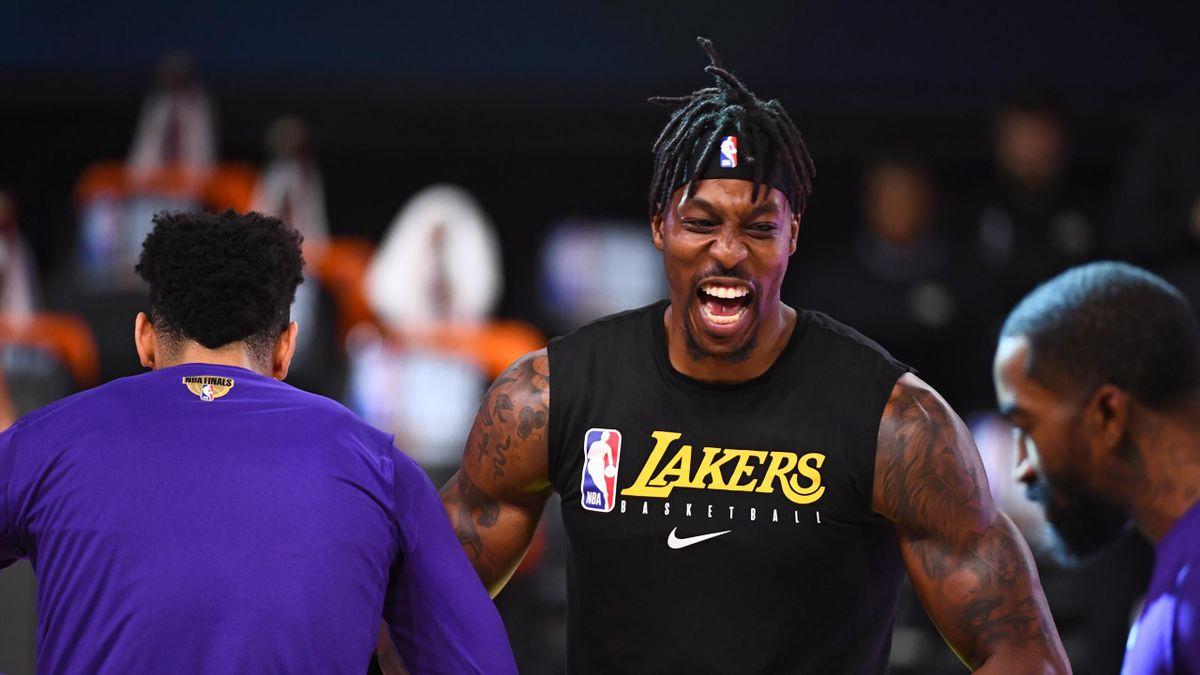 """Dwight Howard, tout juste titré avec les Los Angeles Lakers, est """"free agent"""""""