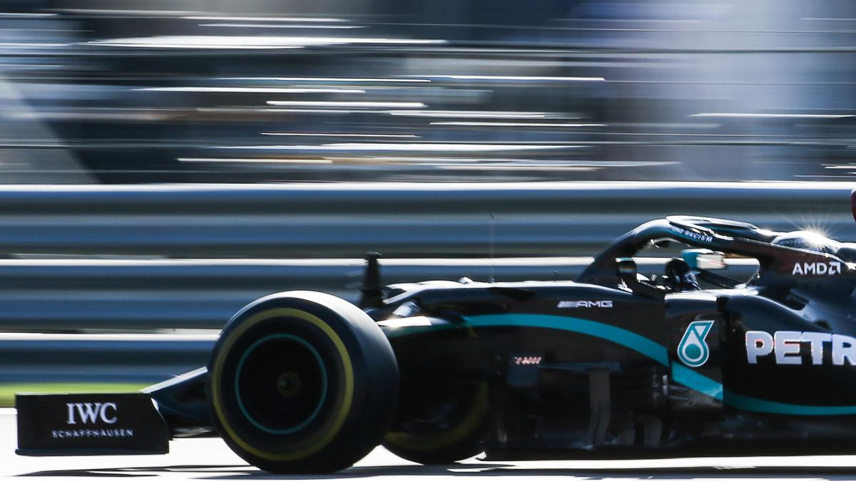 Mercedes-AMG Petronas F1 team driver Valtteri Bottas of Finland competes in the 2020 Formula One Russian Grand Prix at the Sochi Autodrom