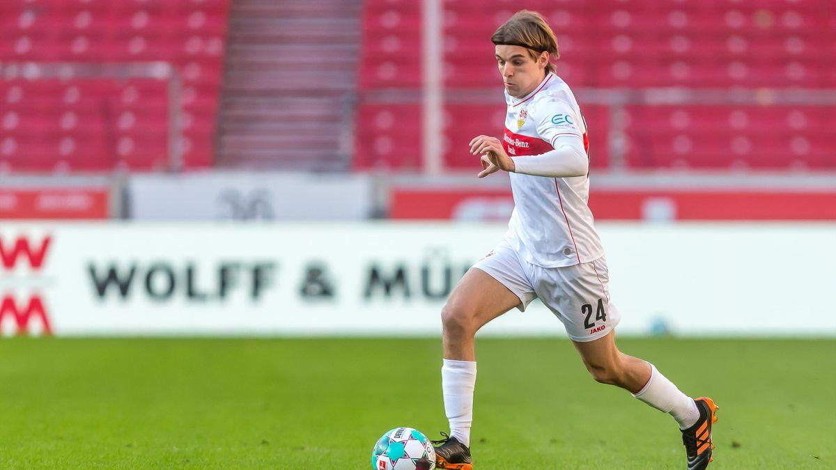 Borna Sosa vom VfB Stuttgart