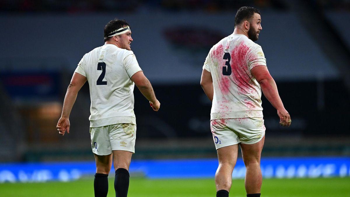 Jamie George e Will Stuart (Inghilterra vs Scozia)
