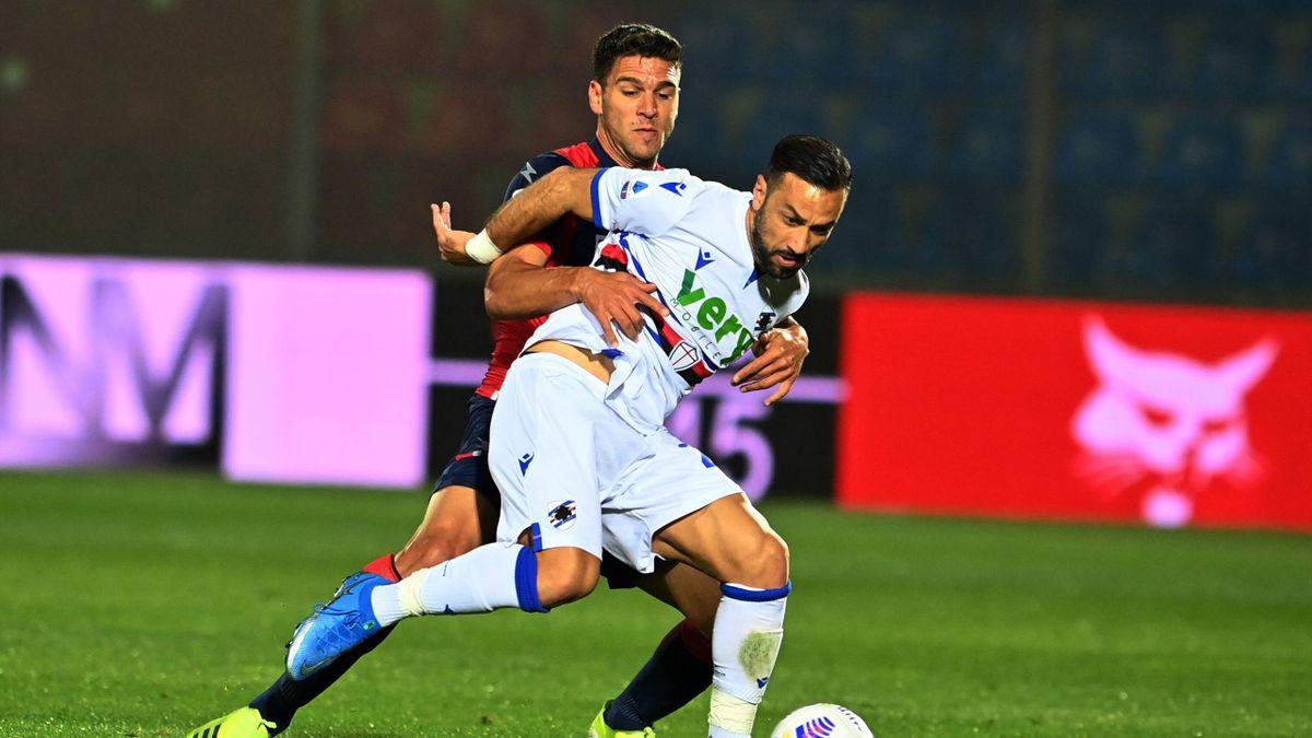 Fabio Quagliarella, Crotone-Sampdoria, Serie A 2020-21, Imago