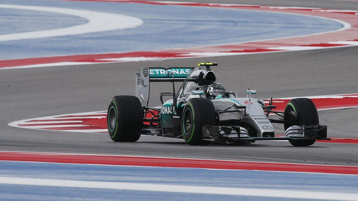 Nico Rosberg (Mercedes) - GP of United States of America 2015