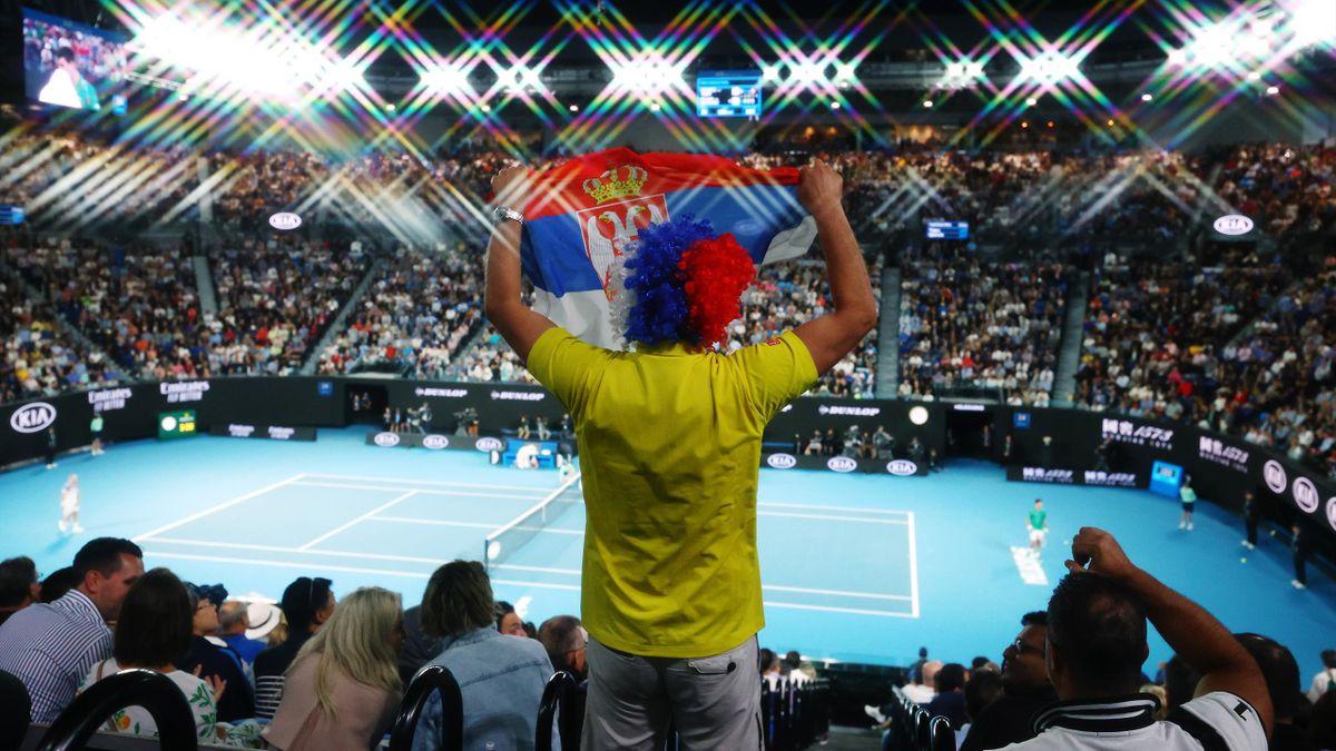 Fans bei den Australian Open