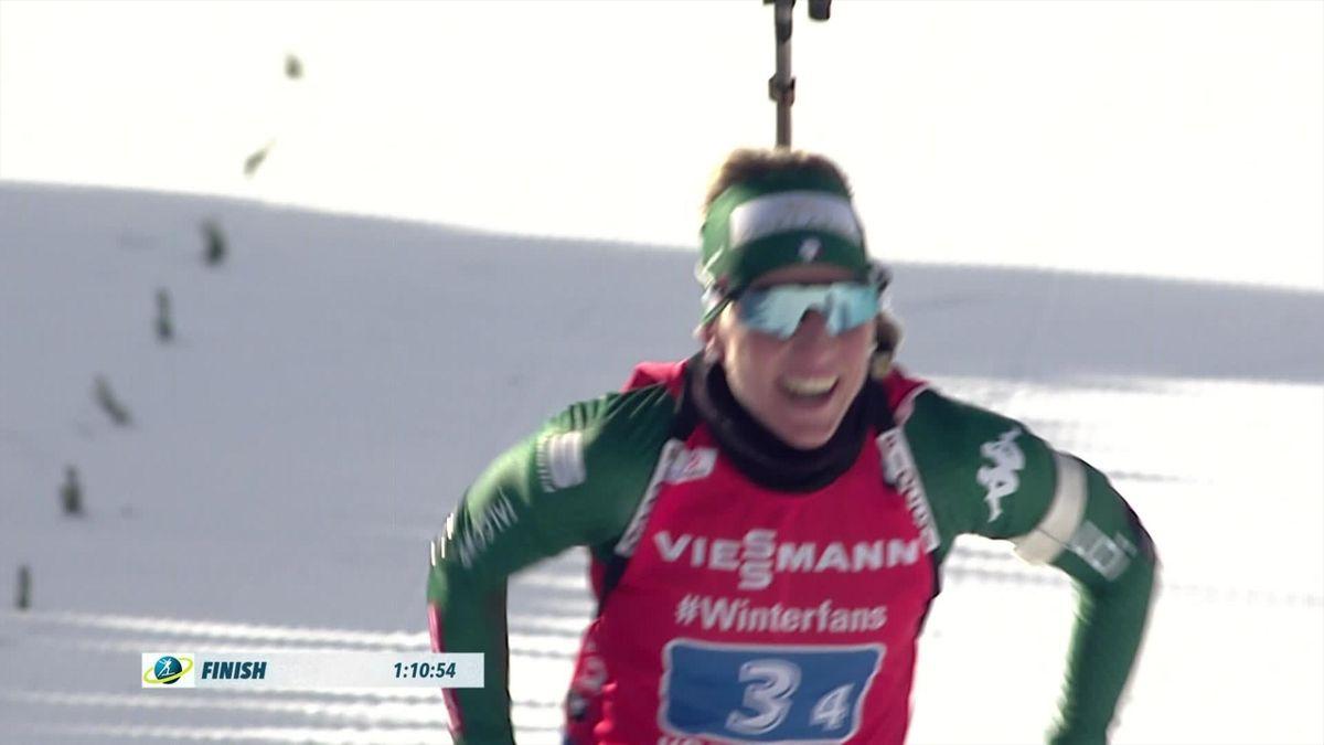 Biathlon : women's Relay Highlights