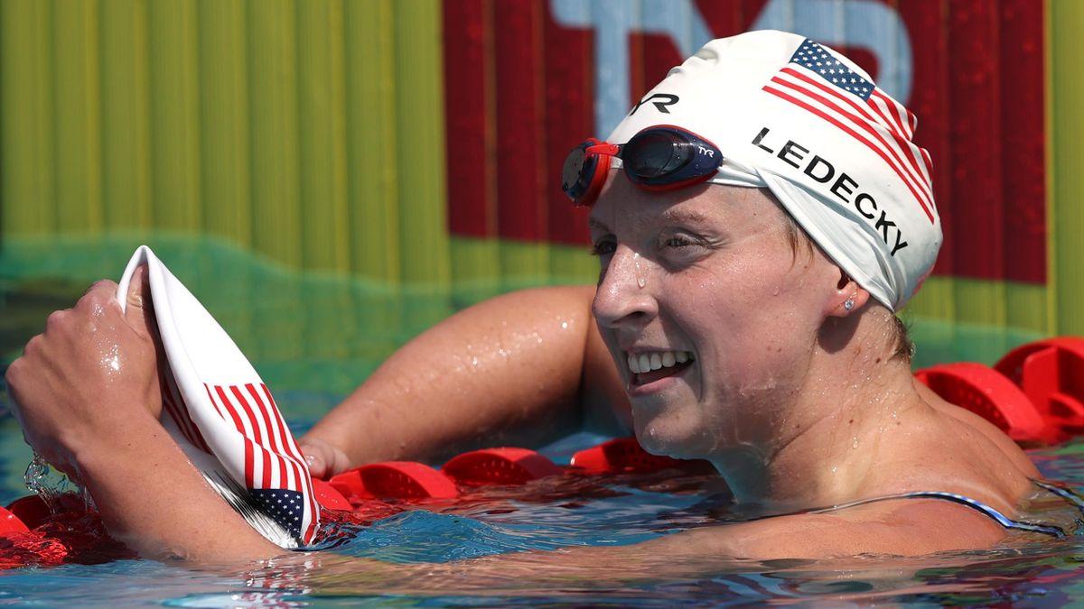 Katie Ledecky.