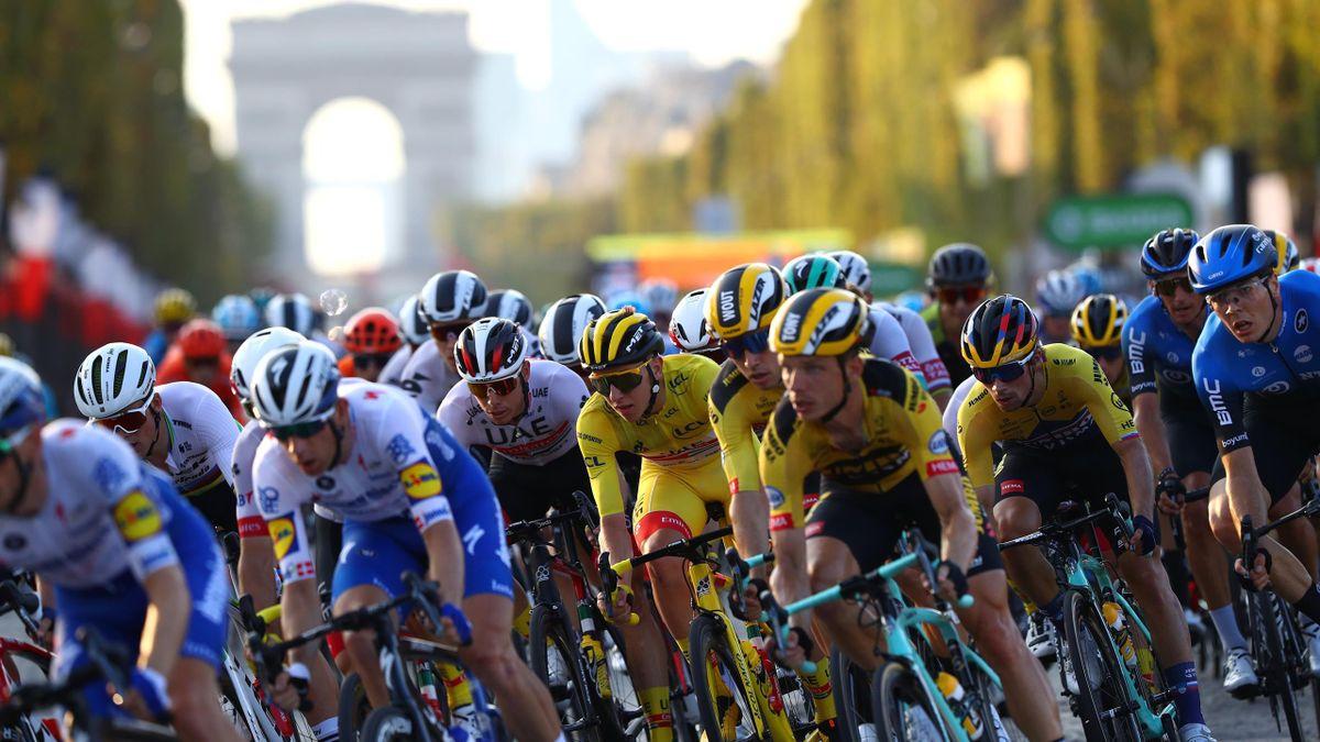 Die 107. Tour de France in Paris