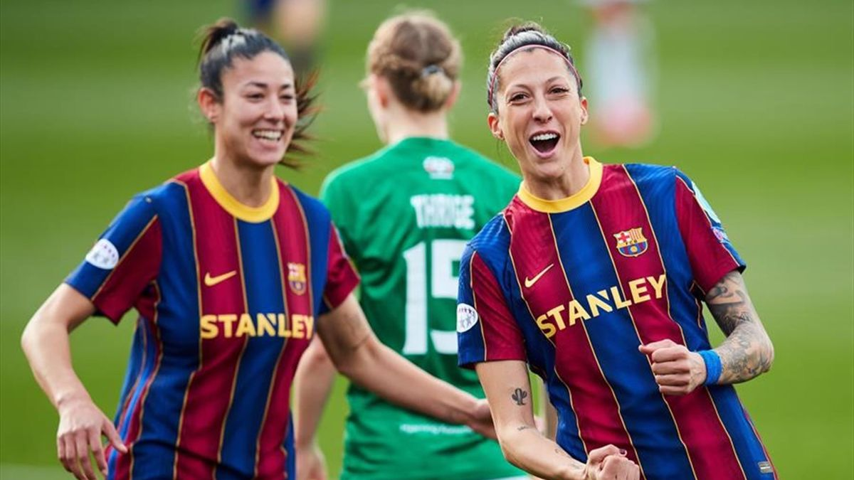 Champions League Femenina, Barcelona-Fortuna: Jenni Hermoso pone pie y  medio en cuartos - Eurosport