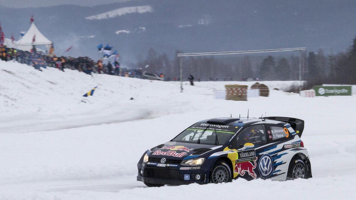 Mikkelsen en el Rally de Suecia