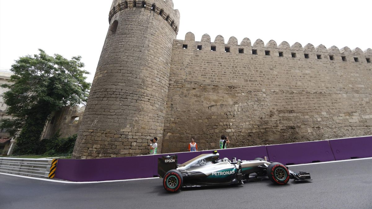 Nico Rosberg in Baku