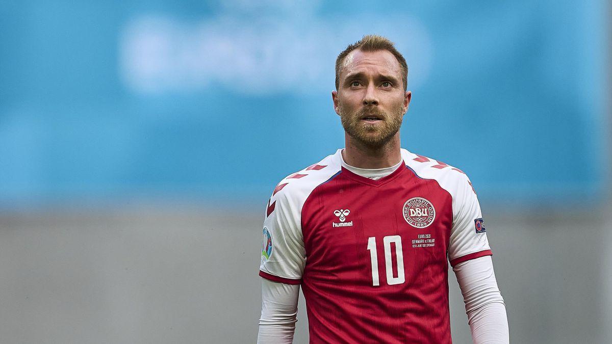 Christian Eriksen, Danimarca, Euro 2020, Getty Images