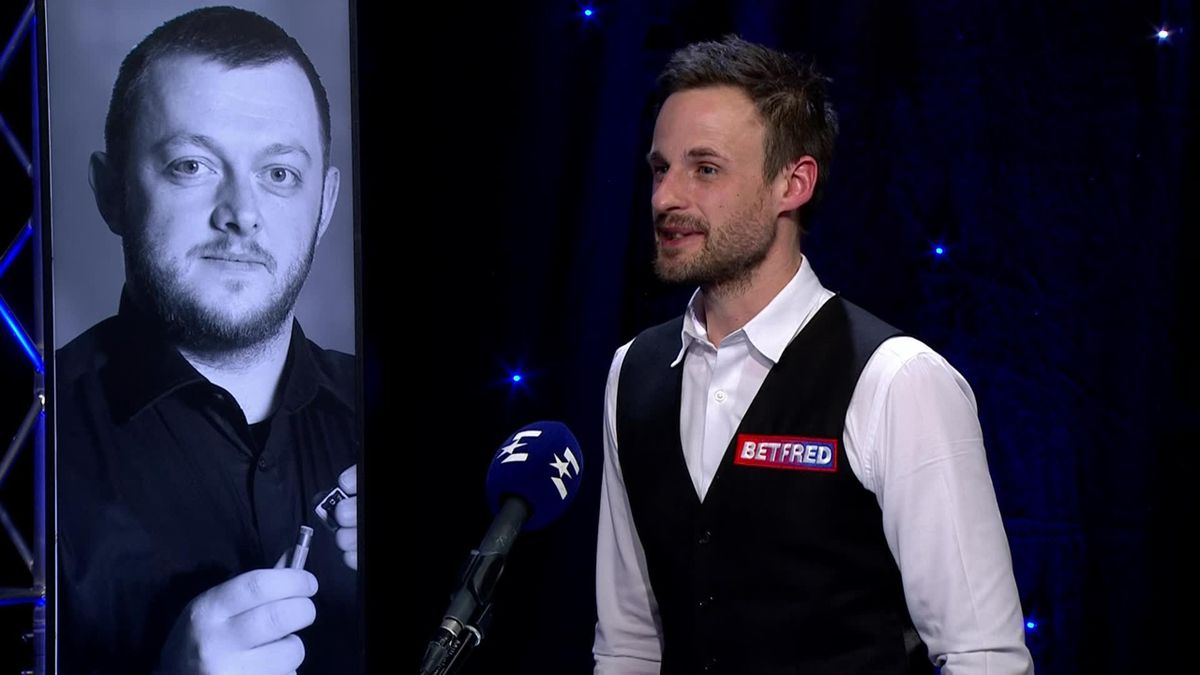 Snooker The Masters: Interview of David Gilbert after his victory over Joe Perry