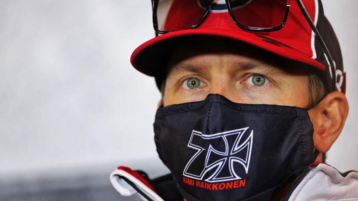 Kimi Räikkönen (Alfa Romeo) au Grand Prix de l'Eifel 2020