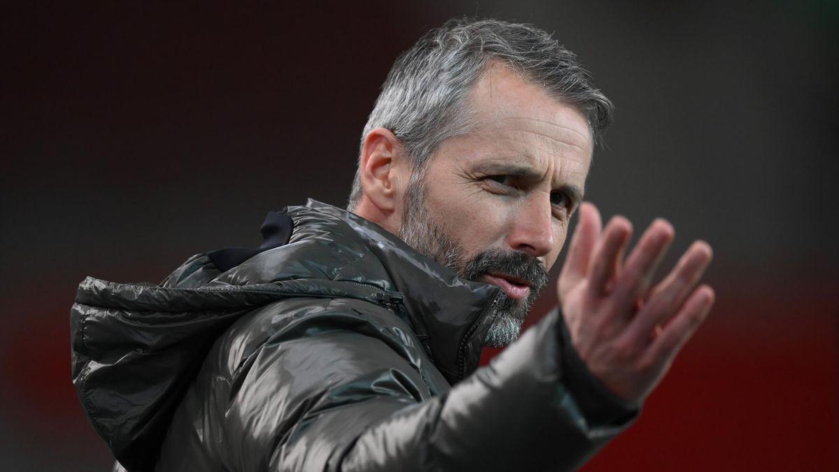 Die Zukunft von Gladbach-Trainer Marco Rose ist noch offen