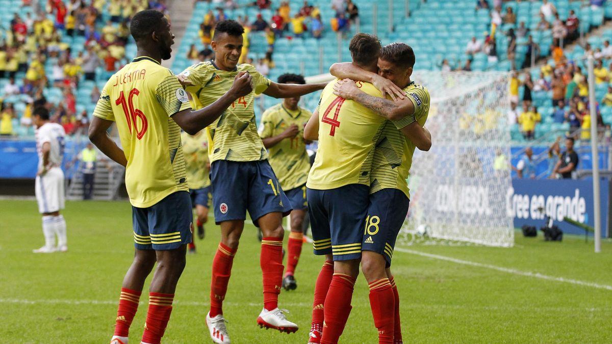 Colombia Paraguay Cuellar Copa America
