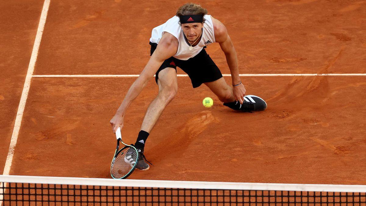 Alexander Zverev beim ATP Masters in Madrid