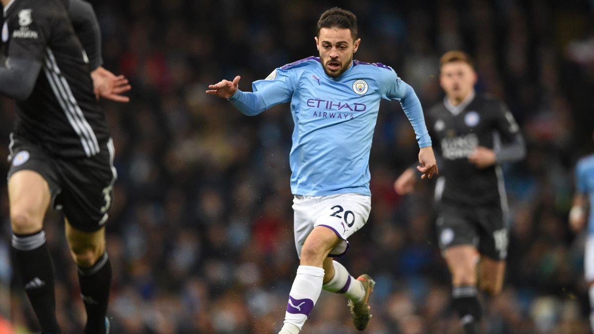 Bernardo Silva - Manchester City vs. Leicester City