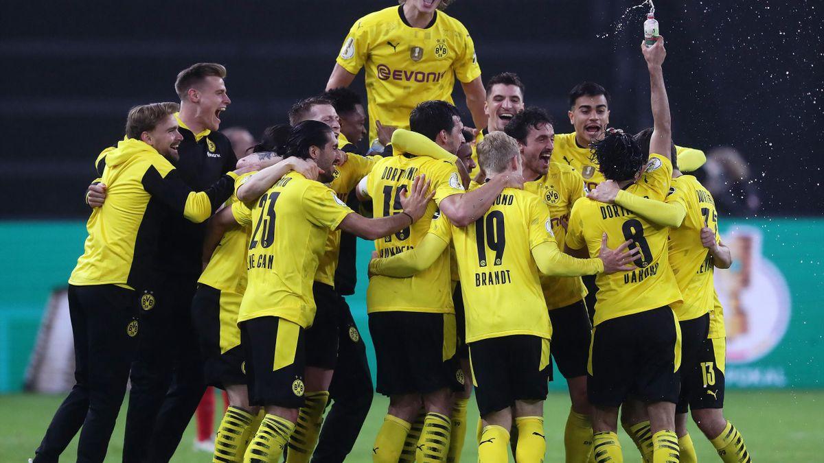 La festa del Borussia Dortmund, DFB Pokal, RB Lipsia-Borussia Dortmund