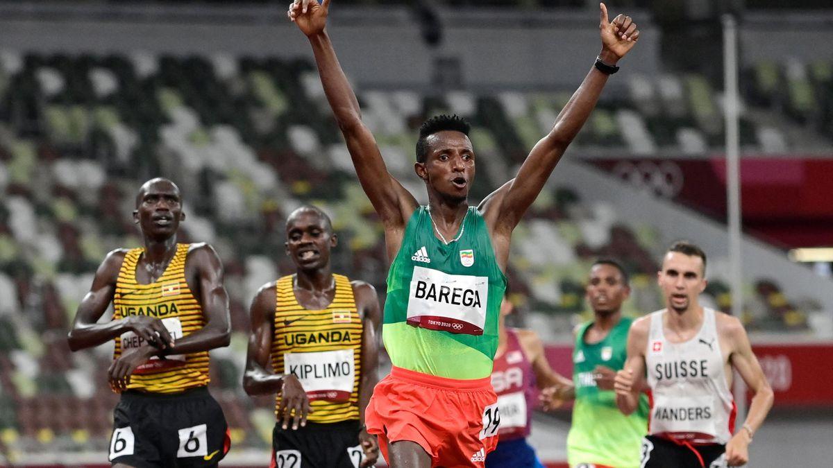 Tokyo 2020 | Selemon Barega wint eerste atletiekgoud