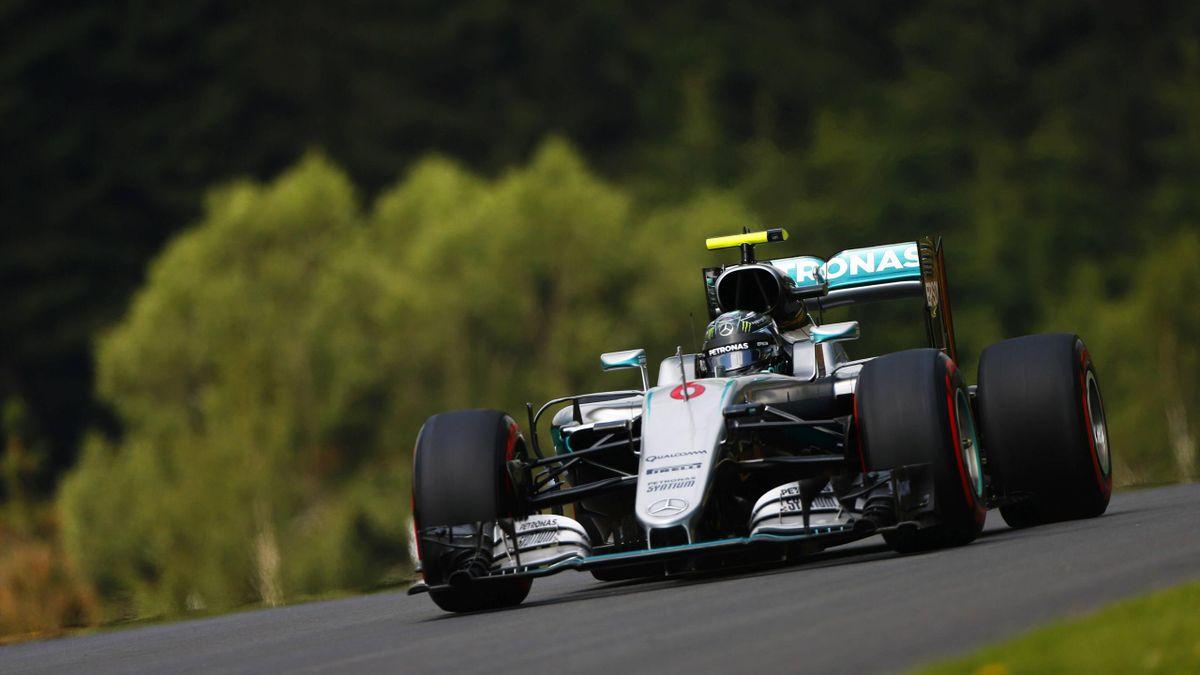 Nico Rosberg im Mercedes